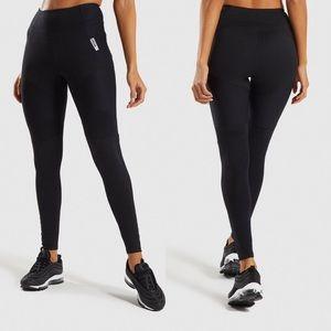 Gymshark True Texture Full Length Leggings Black